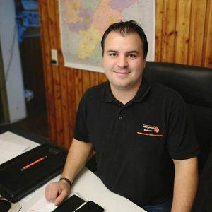 Daniel Walko, Geschäftsführer Walko Transporte GmbH, Baienfurt