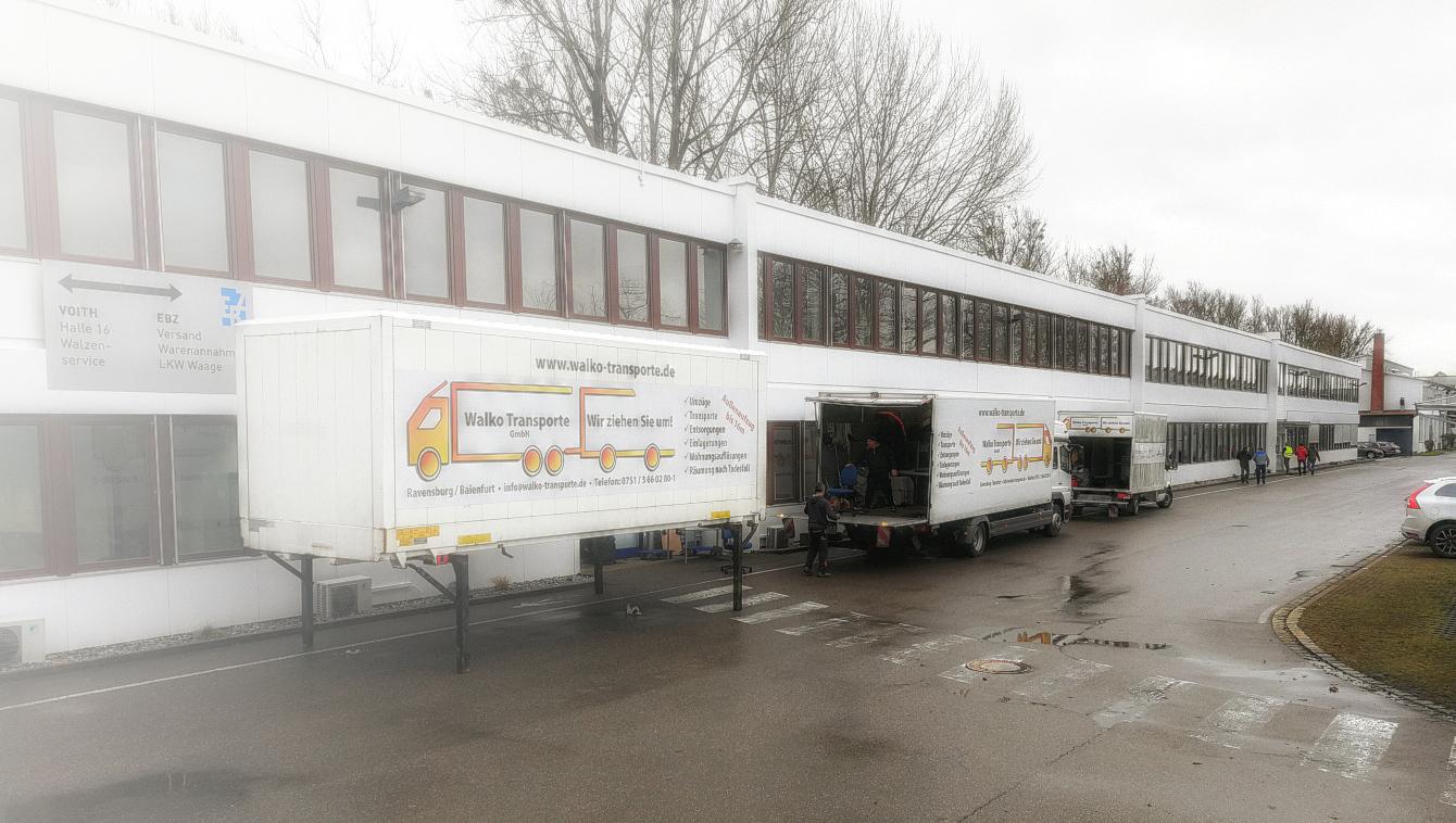 Gewerbliche Umzüge - Walko Transporte GmbH, Baienfurt
