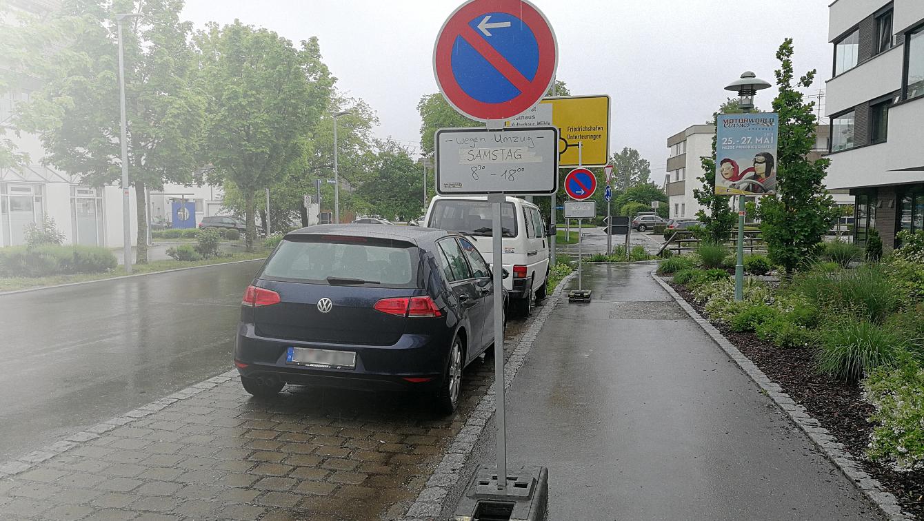 Halteverbotszonen - Walko Transporte GmbH, Baienfurt