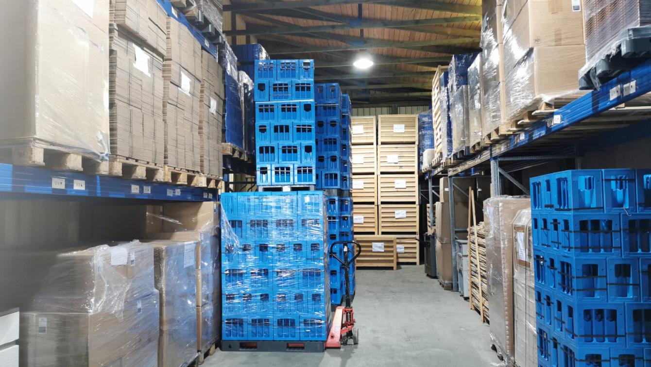 Einlagerung - Walko Transporte GmbH, Baienfurt